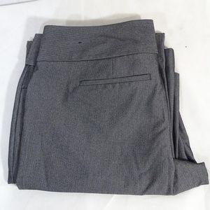 Express Editor Flat Front Dress Wide Leg Pants